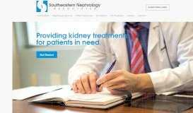Southeastern Nephrology: Kidney Treatment Center