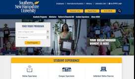 Southern New Hampshire University - On Campus & Online Degrees ...