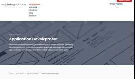 Staff Portal Design & Development - Web Integrations