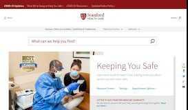 Stanford Health Care (SHC) - Stanford Medical Center   Stanford ...