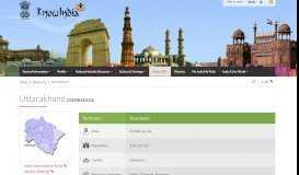 States Uts - Uttarakhand - Know India: National Portal of India