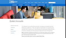 Student Accounts - Lawrence Technological University