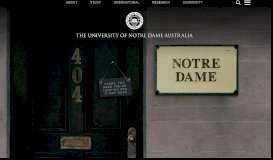 Student Centre | Notre Dame