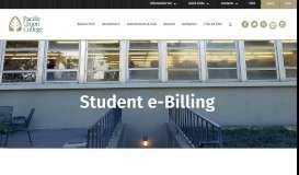 Student e-BillingServices | Pacific Union College