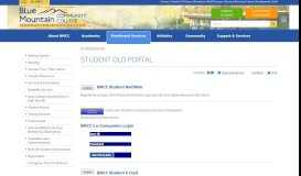 Student old Portal | Blue Mountain Community College