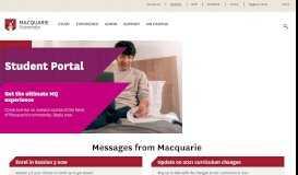 Student Portal - Home