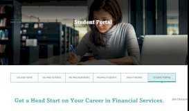 Student Portal - Securities Training Corporation