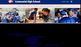 Student Services   Centennial High School