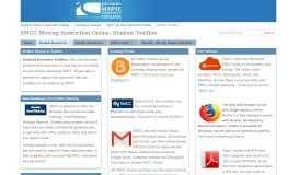 Student ToolBox - Welcome to the SMCC Online Learning Portal ...