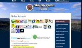Students - Miscellaneous - Cañon City Schools