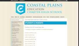 Students & Parents - Coastal Plains Charter High School