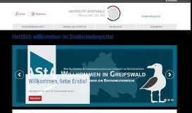 Studierendenportal - Studierendenschaft der Universität Greifswald