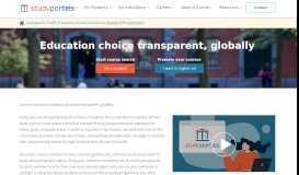 Studyportals - The global study choice platform