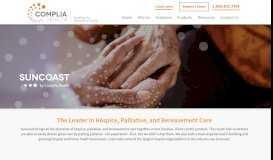 Suncoast   Complia Health   Hospice, Palliative, and Bereavement Care