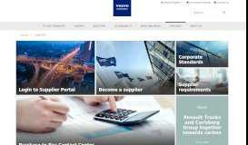 Suppliers   Volvo Group