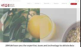 Supply Chain Information Management by SIM - Blockchain innovation
