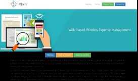 SutiWEM-S: Wireless Expense Management Software for SMBs