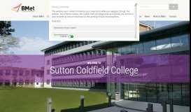Sutton Coldfield College - Birmingham Metropolitan College