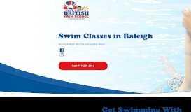 Swim Lessons Raleigh | British Swim School