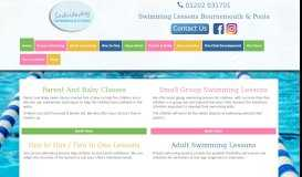 Swimming Lessons for Kids, Babies & Adults Poole, Wimborne ...