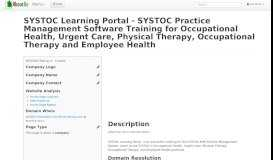 SYSTOC Learning Portal - SYSTOC Practice Management Software ...