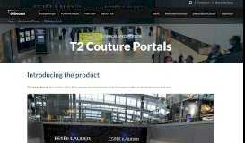 T2 Couture Portals   JCDecaux UK