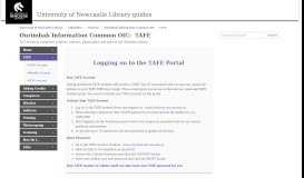 TAFE - Ourimbah Information Common OIC - LibGuides at University ...