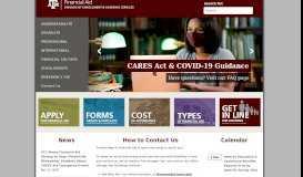 TAMU Financial Aid - Texas A&M University