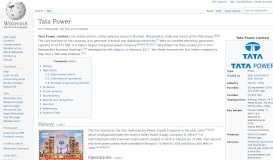 Tata Power - Wikipedia
