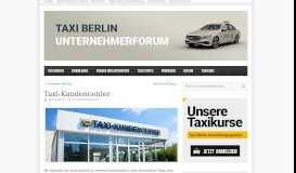 Taxi Kundencenter im Taxi Zentrum Berlin