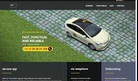 TaxiFunk Berlin 44 33 22   Taxi in Berlin bestellen   Taxi-App