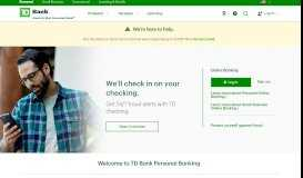 TD Bank: TD Personal Banking, Loans, Cards & More
