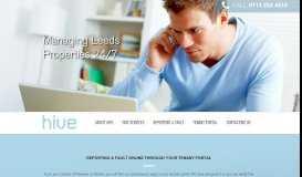 Tenant Portal | Hive Property Management - Hive Maintenance