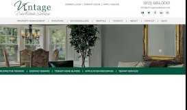 Tenant Services - Vintage Real Estate