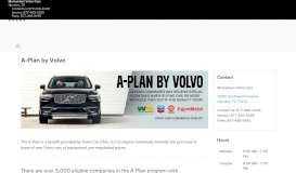 The A-Plan by Volvo   Momentum Volvo Cars in Houston