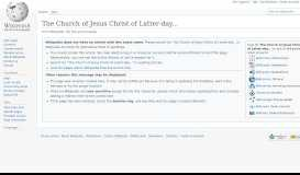 The Church of Jesus Christ of Latter-day Saints in New Mexico ...