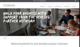 The Genesys Partner Network | Join Our Partner Program | Genesys