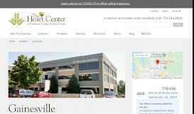 The Heart Center of Northeast Georgia Medical Center Gainesville