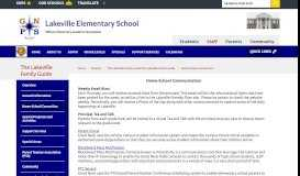 The Lakeville Family Guide / Home-School Connection