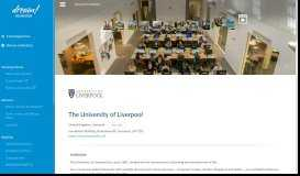 The University of Liverpool - Apply online! - Dream Foundation