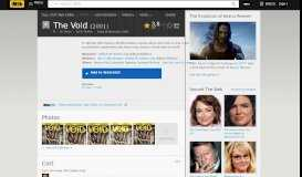The Void (Video 2001) - IMDb