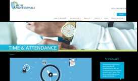 Time & Attendance | My HR Professionals | Payroll Processing ...