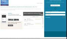 to access web portal - eClinicalWorks - Eclinicalweb.com