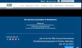 to reset your password. - American Association of Woodturners