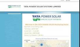 TPS - Customer Login - Tata Power Solar
