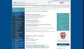 Training & Certification - NJ Department of Community Affairs