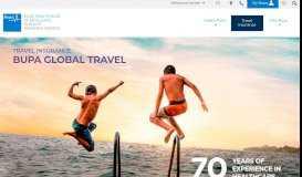 Travel Insurance | Bupa