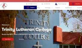 Trinity Lutheran College Mildura - Nurture the FAITH. Grow in ...