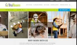 TruTeam Career Opportunities   Join the Building Products Experts