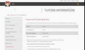 Tuition Information - Harvard-Westlake School